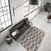 Now 100 Taupe Modern Rug by Unique Rugs