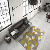 Now 200 Multi Gold Modern Rug by Unique Rugs