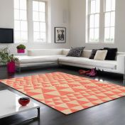 Onix ON07 Triangles Flame Rug By Asiatic
