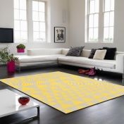 Onix ON08 Triangles Yellow Rug By Asiatic