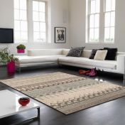 Onix ON10 Tribal Grey Rug By Asiatic