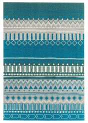 Onix ON16 Tribal Mix Teal Rug by Asiatic