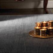 Orient Grey Striped Wool Rug by Rug Guru