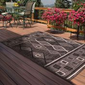 Outdoor Oasis Charcoal Rug by Rug Style