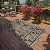 Outdoor Oasis Green Rug by Rug Style