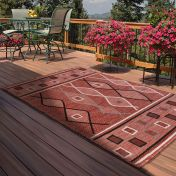 Outdoor Oasis Terracotta Rug by Rug Style