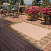 Outdoor Pineapple Green Rug by Rug Style