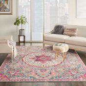 Passion PSN22 Grey Multi Rug by Nourison