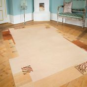 Patana Spezial Creme Rug by Unique Rugs