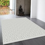 Patio PAT11 Diamond Grey Rug By Asiatic