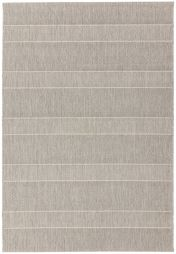 Patio PAT03 Beige Striped Rug by Asiatic