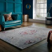 Persian Fusion Cedar Natural Luxmi Wool Rug by Flair Rugs