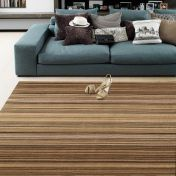 Pimlico Fine Stripe Natural Rug By Asiatic