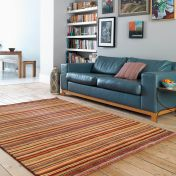 Pimlico Fine Stripe Spice Rug By Asiatic