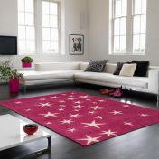 Play All Stars Pink Rug By Asiatic