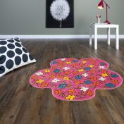 Play Pink Meadow Rug By Asiatic