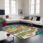 Play Princess Map Rug By Asiatic