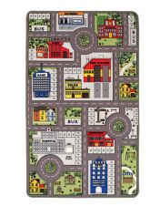 Playtime City farm Mat by Oriental Weavers