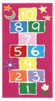 Playtime Hopscotch Theme Mat By Oriental Weavers