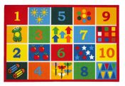 Playtime Number Theme Mats By Oriental Weavers