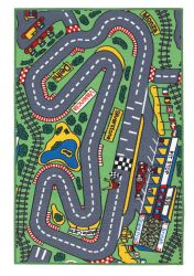Playtime Racetrack Theme Mats By Oriental Weavers