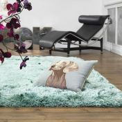 Plush Ocean Luxury Shaggy Polyester Rug by Asiatic