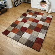 Portland 1923 X Chequered Rug by Oriental Weavers
