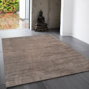 Reko Moleskin Plain Rug By Asiatic
