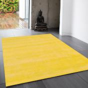 Reko Mustard Plain Rug By Asiatic