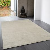Reko Smoke Plain Rug By Asiatic
