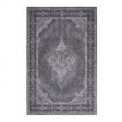 Retro Dash Grey  Traditional Rug by ITC Natural Luxury Flooring