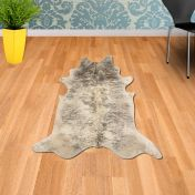 Rodeo Cowhide Exotic Light Abstract Rug By Asiatic