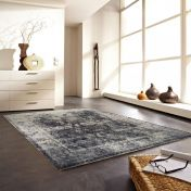 Rossini Grey Rug by Unique Rugs
