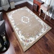 Royal Jewel JEW10 Beige Traditional Rug By Oriental Weavers