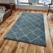 Royal Nomadic 5413 Teal/Champagne Rug By Think Rugs