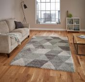 Royal Nomadic 7611 Grey/Aqua Green Rug by Think Rugs