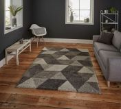 Royal Nomadic 7611 Grey Rug by Think Rugs