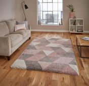 Royal Nomadic 7611 Rose/Cream Rug by Think Rugs