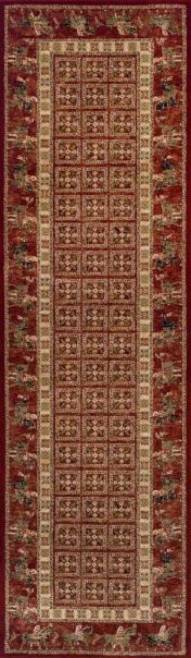 Royal Classic 1527R Brown Traditional Runner By Oriental Weavers