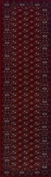 Royal Classic 537R Red Traditional Runner By Oriental Weavers