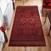 Royal Classic 635R Red And Orange Rug By Oriental Weavers