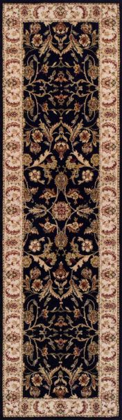 Royal Classic 636B Black Traditional Runner By Oriental Weavers