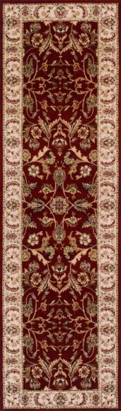 Royal Classic 636R Red Traditional Runner By Oriental Weavers
