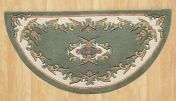 Royal Jewel JEW07 Green Half Moon Traditional Rug By Oriental Weavers