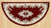 Royal Jewel JEW11 Red Half Moon Traditional Rug By Oriental Weavers