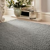 Fusion Dove Grey Wool Rug by Rug Guru