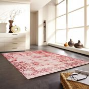 Antique Beige-Red Rug by Unique Rugs