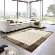 Samoa 152 060 Border Brown Rug By Unique Rugs