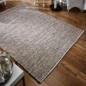 Savannah Textured Taupe Wool Rug by Oriental Weavers
