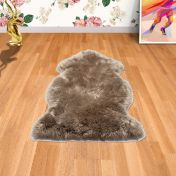 Sheepskin Taupe Animal Rug by Asiatic
